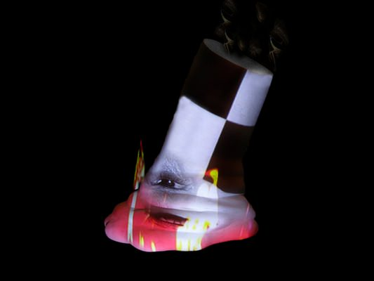 Artist Tony Oursler - Work 3