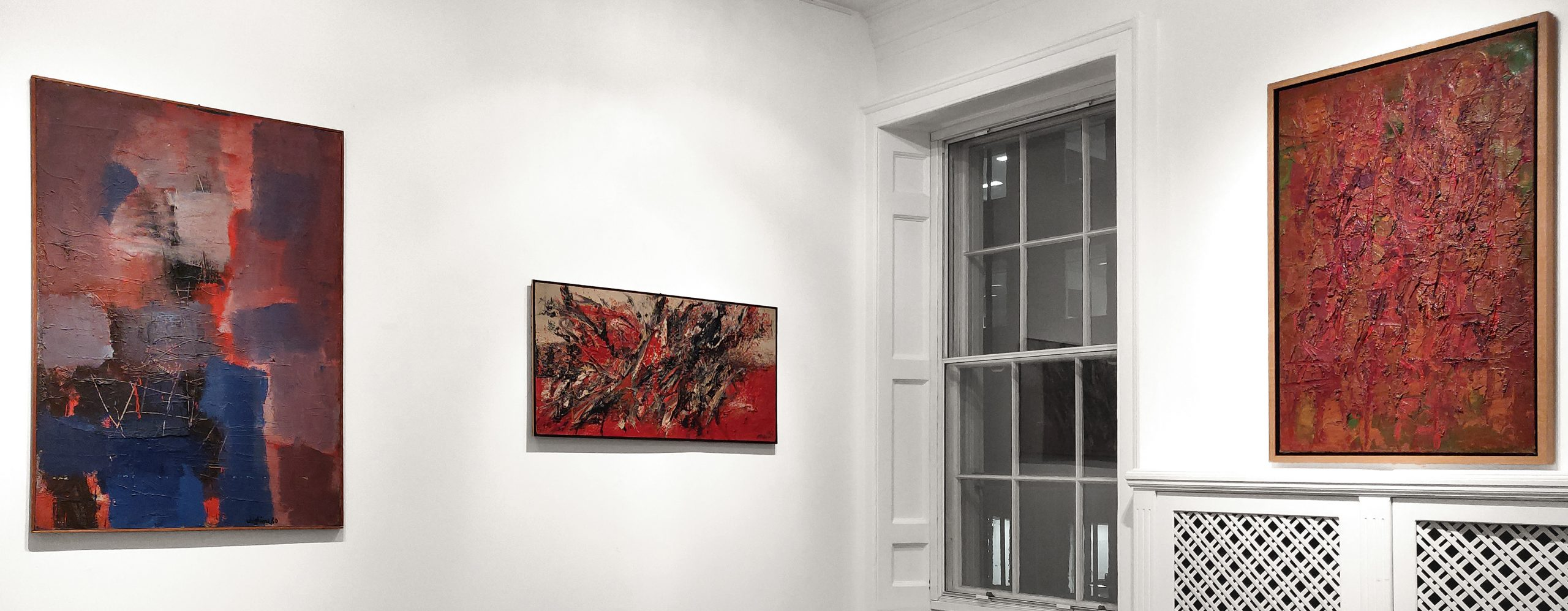 Image Current Exhibition - Informal art in Italy 1952-1962